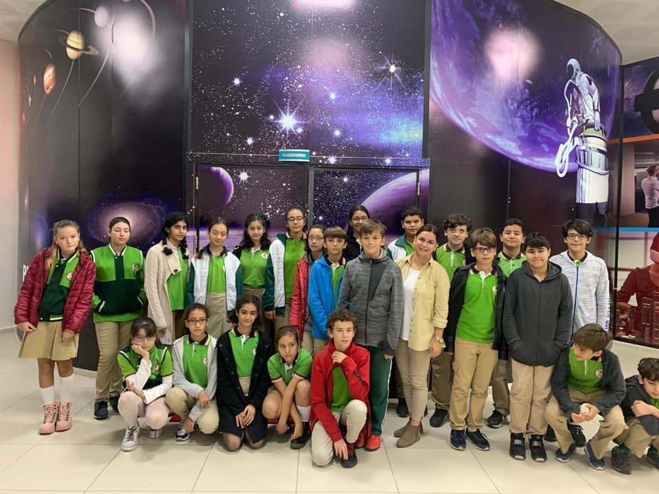 7-Afet İnan Sınıfı Manisa Fen Lisesi Planetaryumuna Gezi Düzenledi