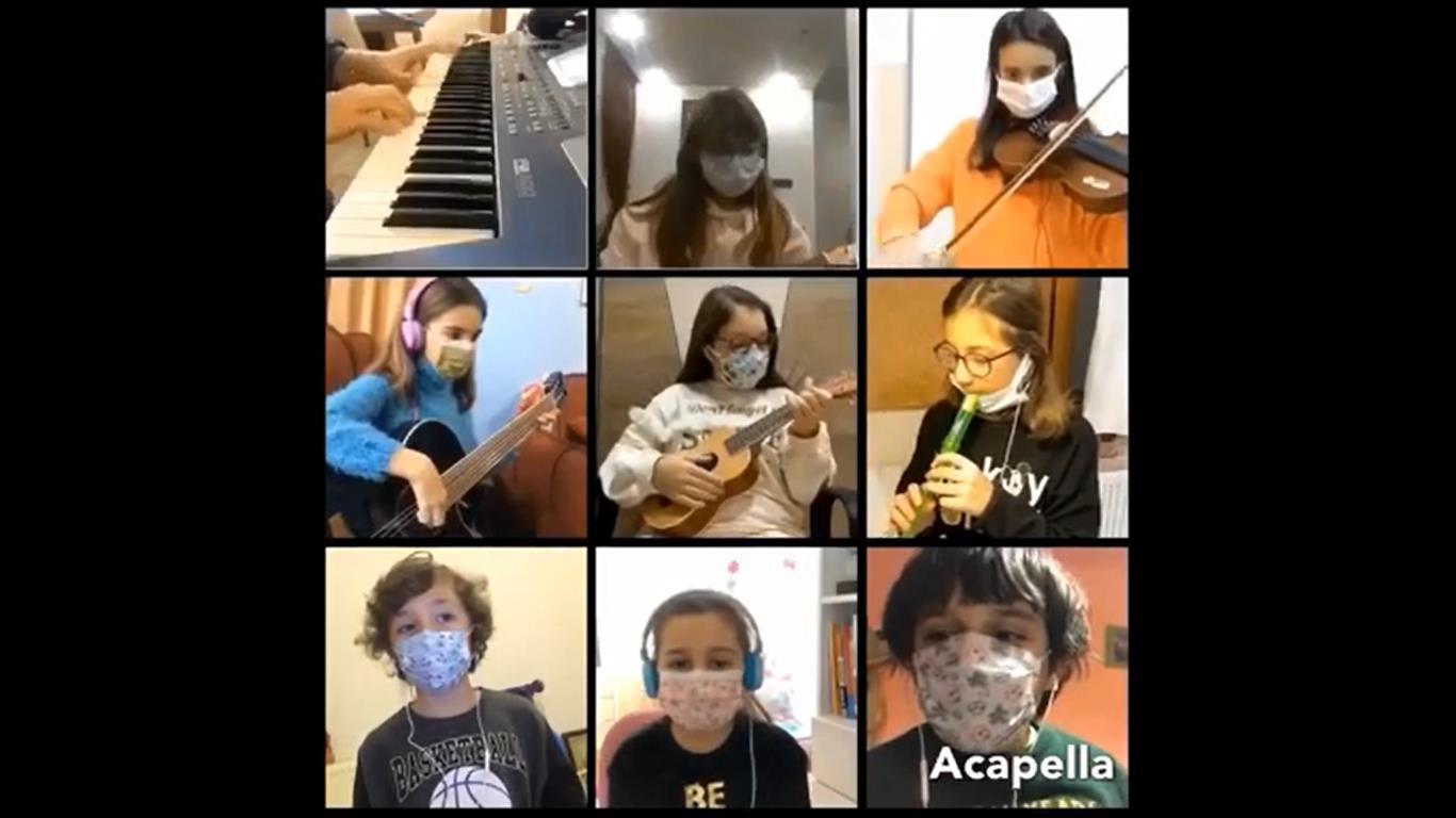 """Öğrencilerimizden """"Maske Tak"""" şarkısı"""