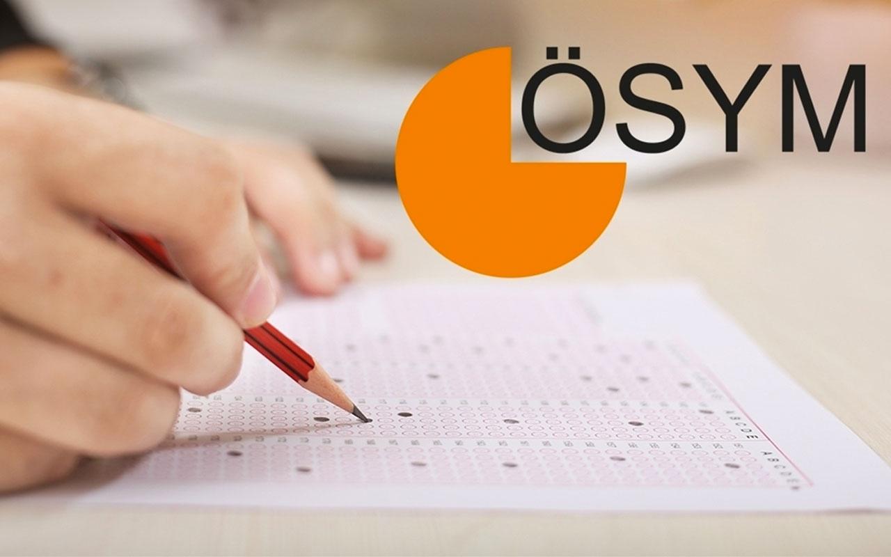ÖSYM 2020 Sınav Takvimi Açıklandı