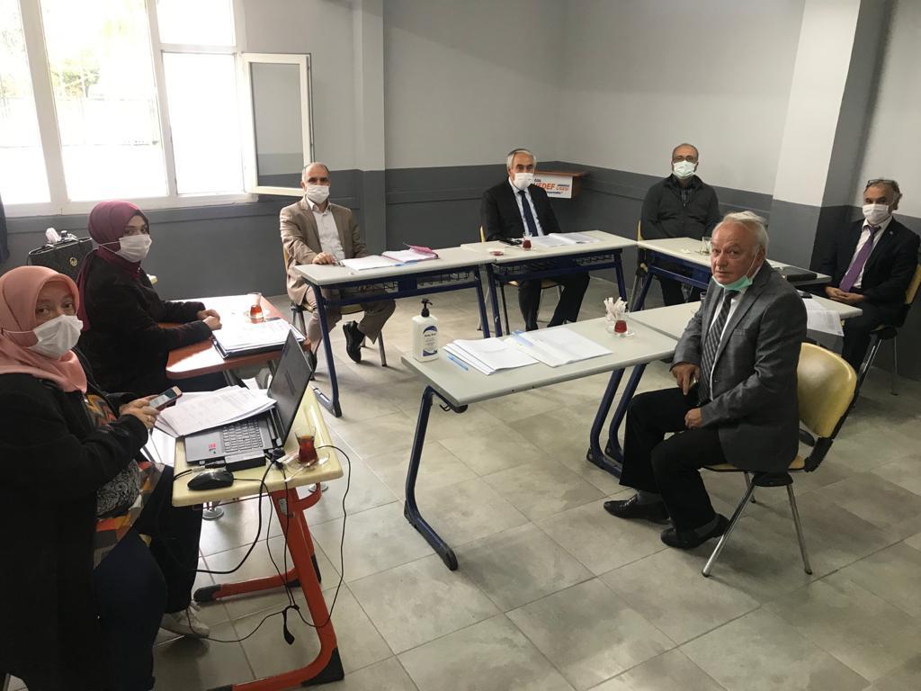 Komisyon üyelerini okulumuzda ağırladık