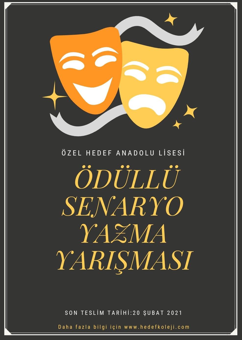 Hedef Anadolu Lisesi Senaryo Yazma Yarışması Düzenliyor !