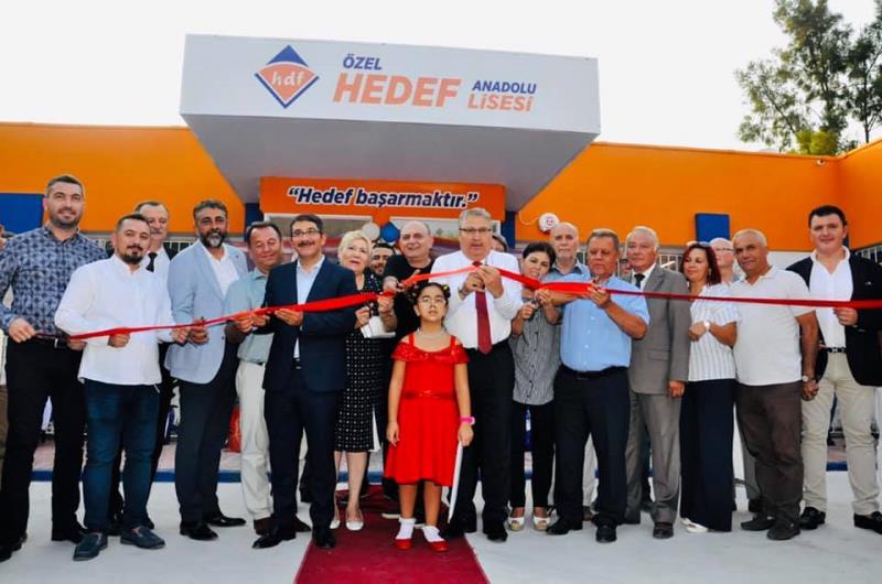Hedef Anadolu Lisesi Açıldı